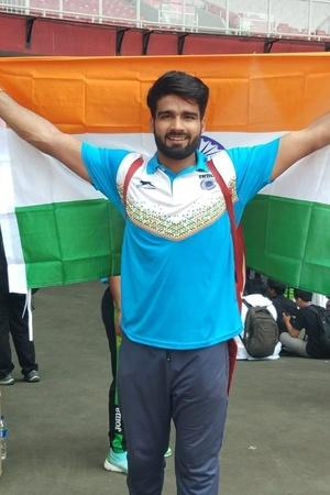 Sandeep Chaudhary won gold