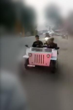 Self made car Ludhiana boy car video DIY car Bike to car conversion India inventions Innovative