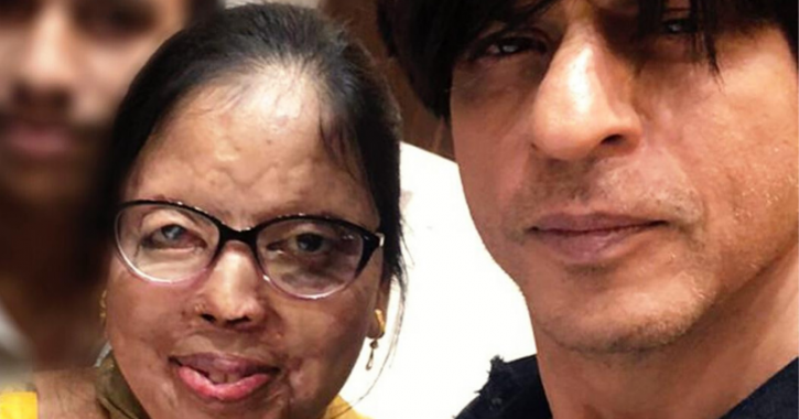 Shah Rukh Khan Congratulates Acid Attack Survivour On Wedding, Wishes Them Both Love and Laughter.