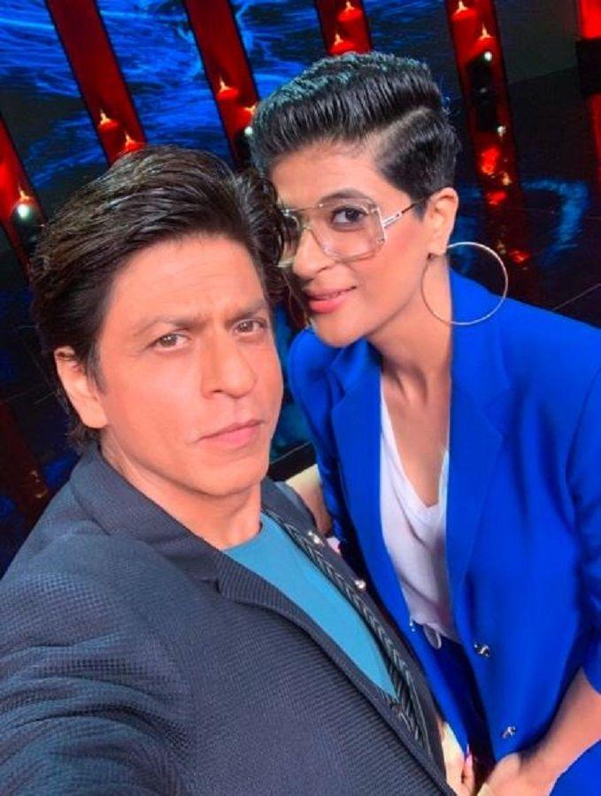 Tahira and SRK