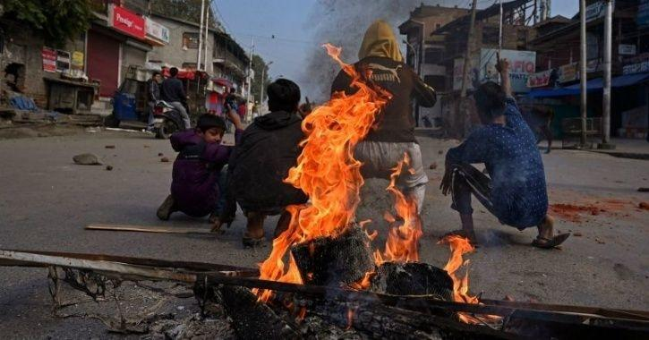 Unrest Intesifies As Terrorists Burn Down A Govt School In Kashmir Ahead Of Board Exams Starting Tod