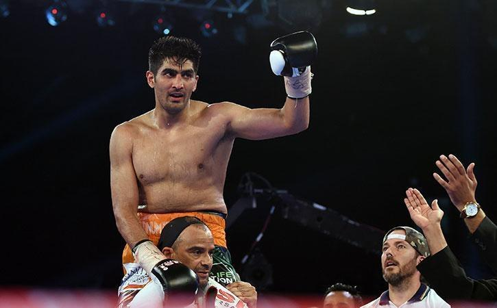 Vijender Singh is unstoppable