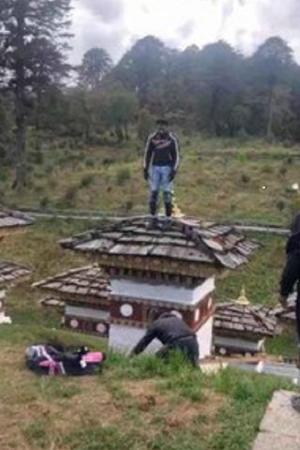 Abhijit Ratan Hajare Indian Biker Bhutan Bhutan Tourism Buddhist Stupa Chorten