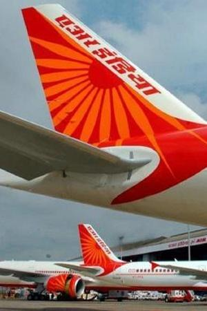 air india Air India Flight flight Delayed Because Co Pilot Strucked In Traffic