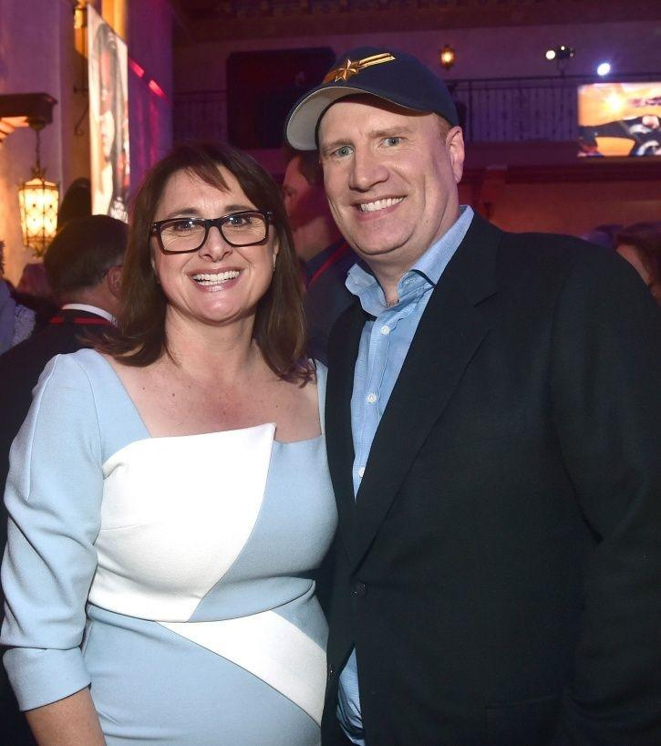 Avengers Endgame: President Kevin Feige and Executive Vice President of Production Victoria Alons o