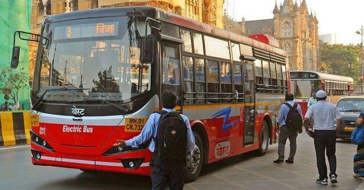 BEST Electric Bus Catches Fire, BEST Electric Bus Emits Smoke, Electric Bus Mumbai Smoke, Olectra El