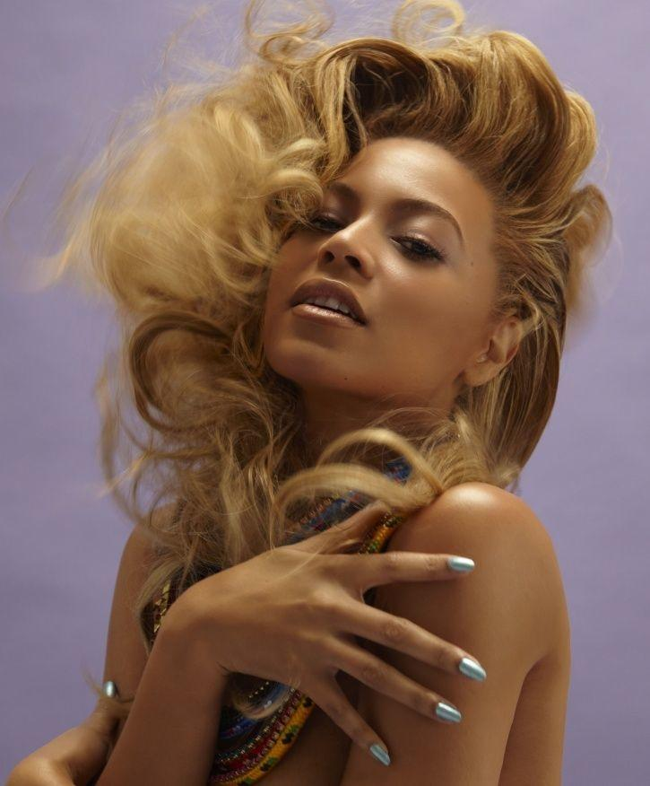 Beyonce is the second most beautiful woman in the world.