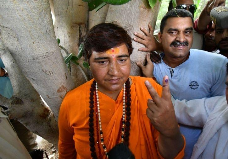 BJP MP Sadhvi Pragya, Who Earlier Praised Godse, Calls Mahatma Gandhi 'Son Of The Nation'