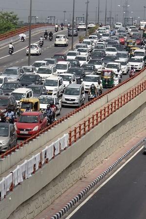 Delhi Roads Redesign Delhi Under Construction Roads Delhi Traffic Conditions Delhi Road Traffic