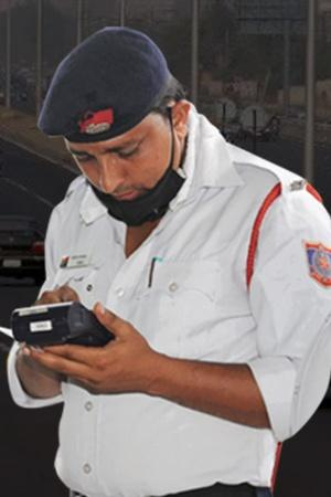 delhi traffic police challan