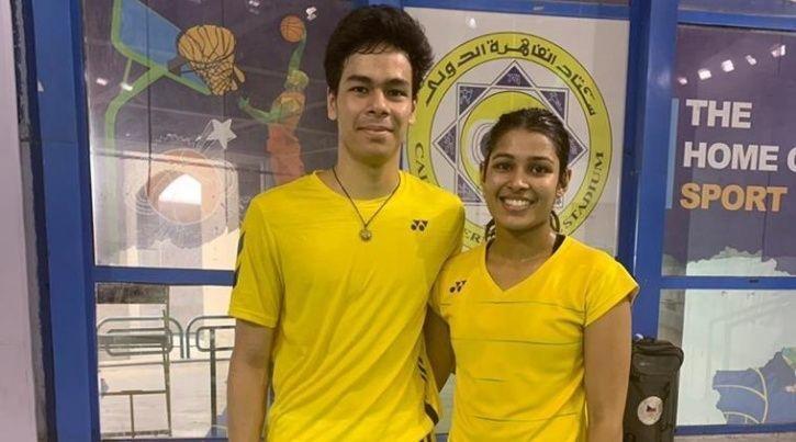 Egypt International Mixed-Doubles Title, Kuhoo Garg, Dhruv Rawat, Egypt International 2019, badminto