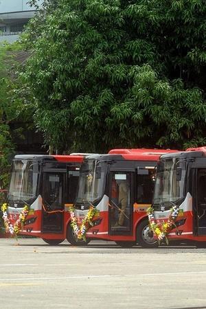 Electric Buses Andhra Pradesh Andhra Pradesh Electric Bus Electric Buses India Andhra Pradesh New