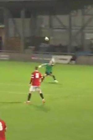 English Club Footballer Does The Impossible
