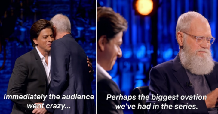 First Trailer Of David Letterman's Episode With Shah Rukh Khan Is Out & It Promises To Be Great Fun