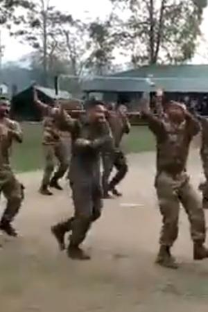 Garba Indian Army