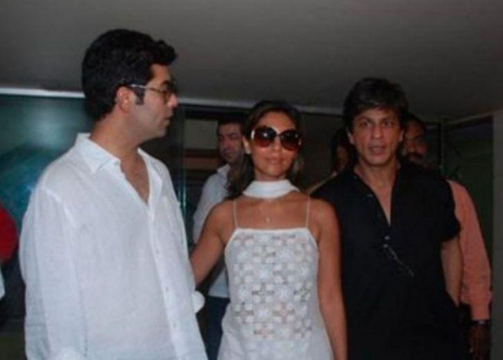 Gauri and SRK