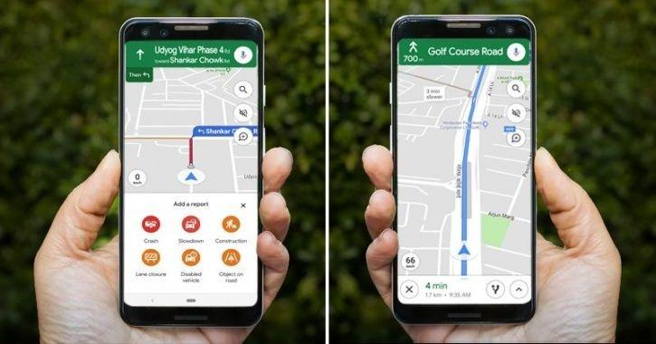 Google Maps iOS Update, Google Maps Speed Alert, Google Maps Crash Report, Google Maps New Features,