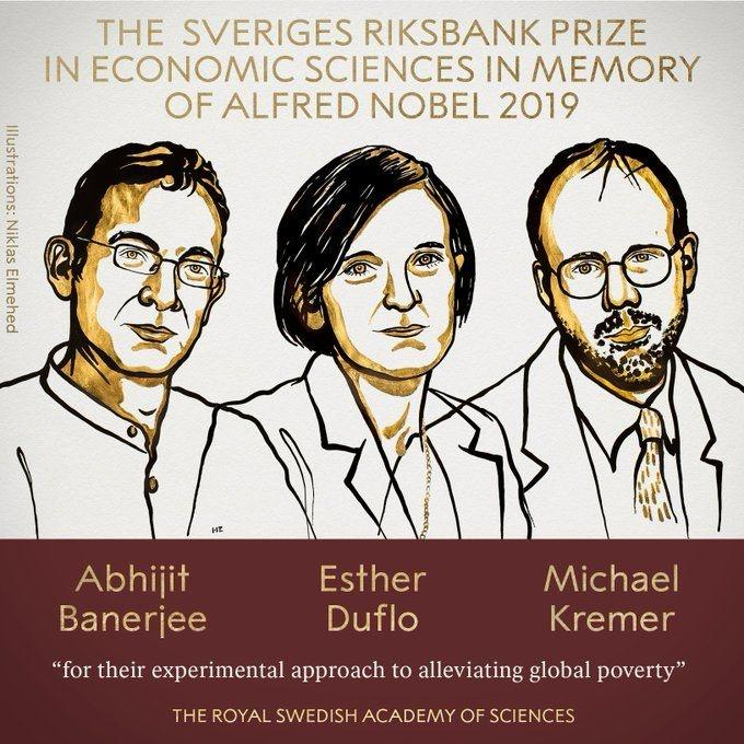 Indian-American Abhijit Banerjee, Esther Duflo and Michael Kremer Win Nobel Price For Economics