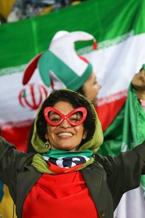 Iranian Women Attended A Football Match On Home
