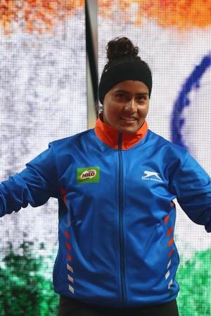 Javelin Thrower Annu Rani Clinches Gold At Nationals