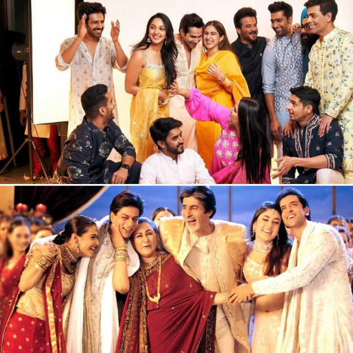 Karan Johar's Diwali Puja Was Performed In K3G Style & These Pics & Videos Prove Just That!
