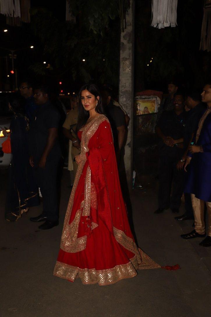 Katrina Kaif at Bachchans Diwali party