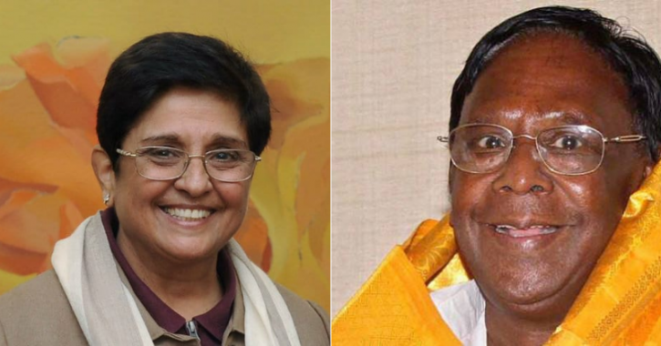 Kiran Bedi, New Motor Vehicle Act, Narayanaswami, Helmet, Kiran Narayanaswami Controversy