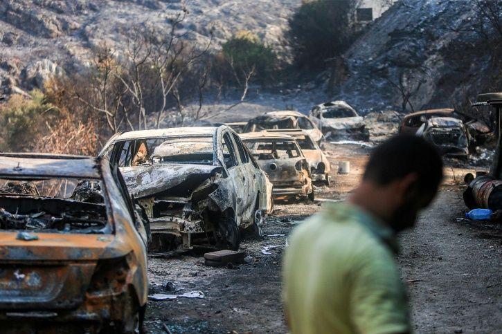 Lebanon Wildfire