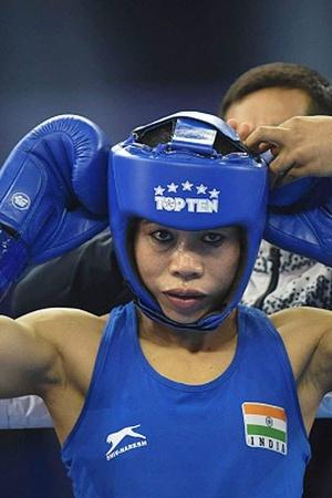 Mary Kom won bronze