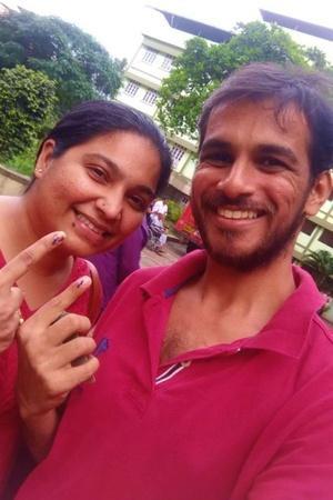 Mumbaikars Share Inked Selfie With VotedForAarey Ask Voters To Choose Their Leaders Wisely