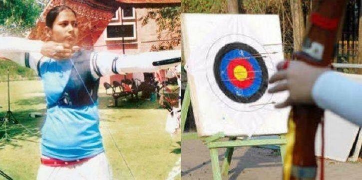 Nisha Dutta, archery, archer, medal, bow