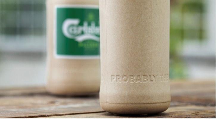 paper beer bottle