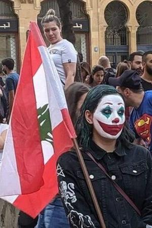 People In Lebanon Are Painting Their Faces Like Joaquin Phoenixs Joker To Protest Against Govt