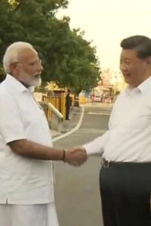 PM Modi in Lungi