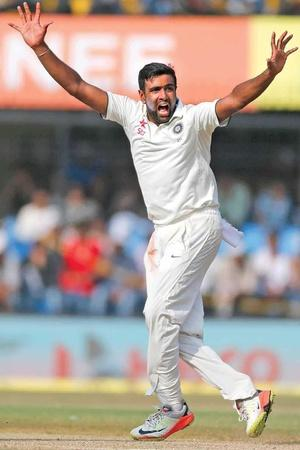 Raivichandran Ashwin has 356 Test wickets