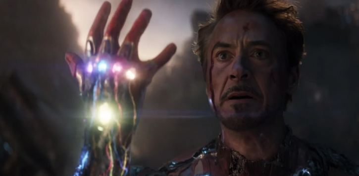 Robert Downey Jr in Avengers: Endgame.