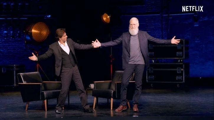Shah Rukh Khan David Letterman episode trailer is here. The episode will be out on Oct 25.