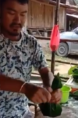 single use plastic viral video replace plastic with leave organic polythene dump plastic say no