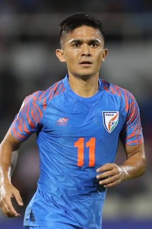 Sunil Chhetri has scored 72 goals for India