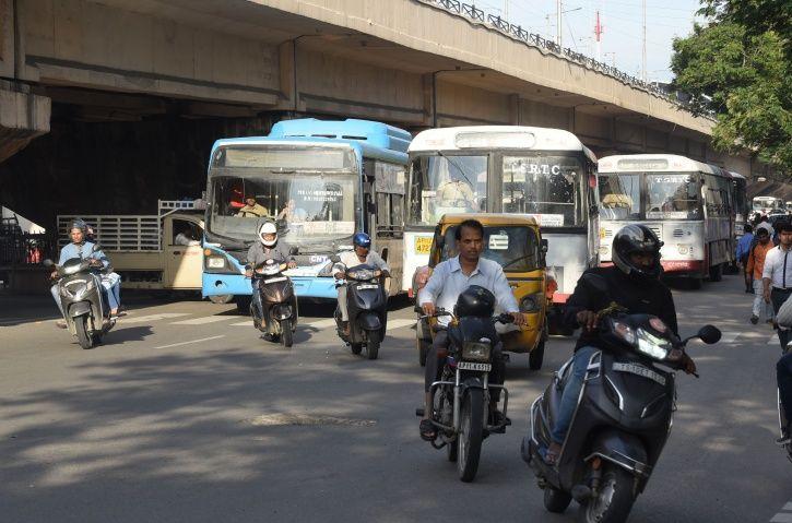 Telangana Bus Strike