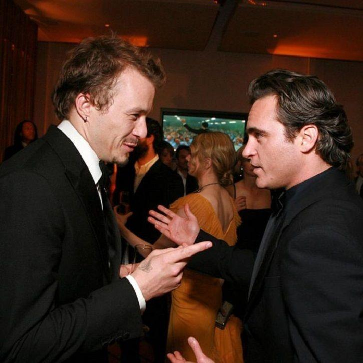 These Old Pictures Of Heath Ledger & Joaquin Phoenix Bonding At Oscars 2006 Are Frame-Worthy!