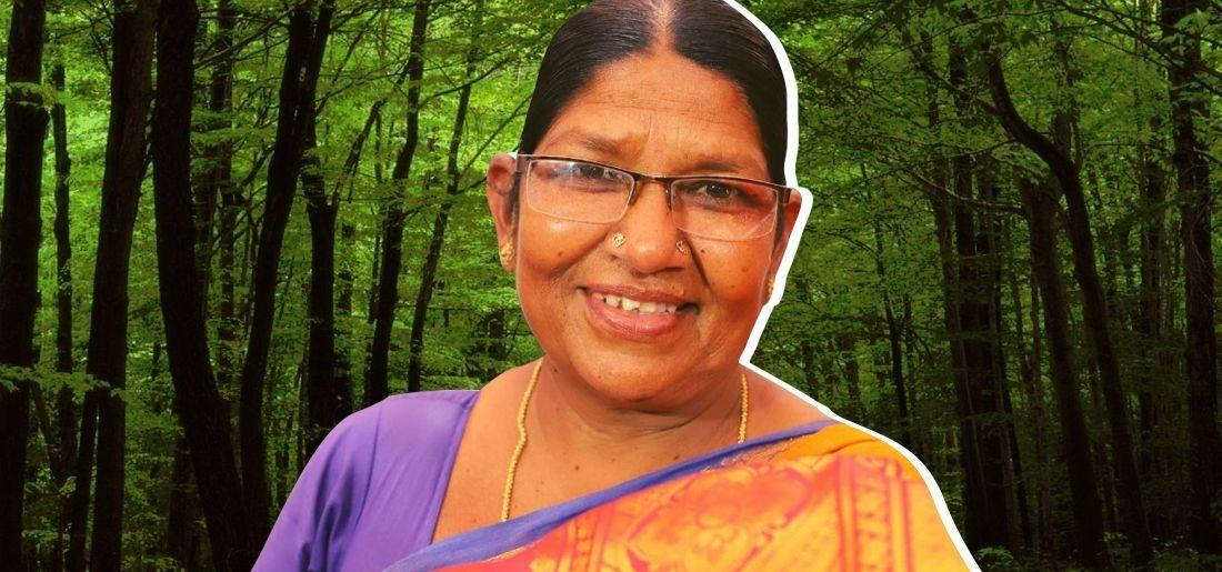 This 49-Year-Old Woman Planted Over 2 Million Trees In 22 Villages & Won UNESCO Award!
