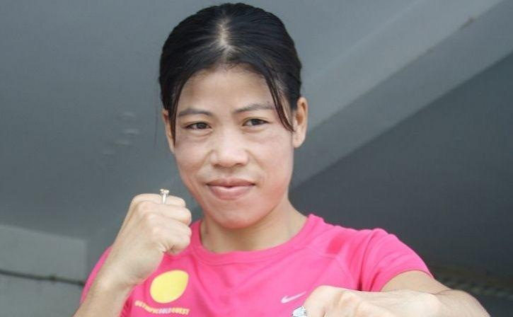 Trial Bout Between Mary Kom And Nikhat Zareen