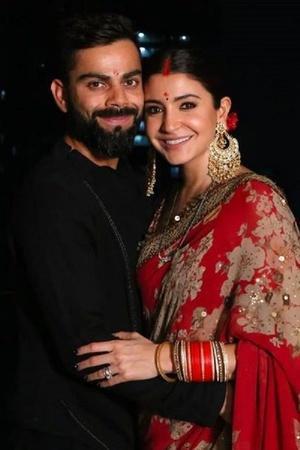 Virat and Anushka Karwa chauth