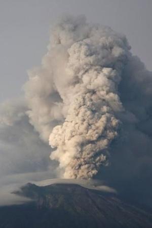 volcano pollution
