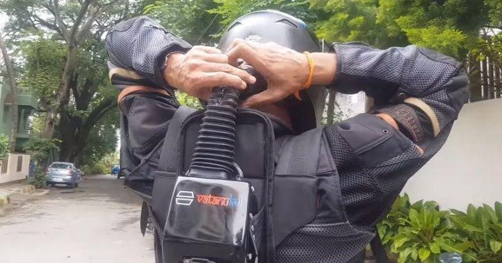Air Conditioner Helmet, AC Helmet, Helmet With Ac Unit, New Helmet Designs, AC Helmet Video, AC Helm