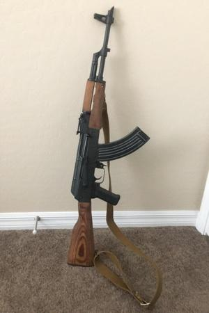 An AK47 is a unique gift