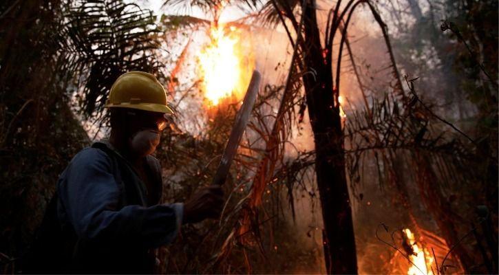 Bolivia wildfires