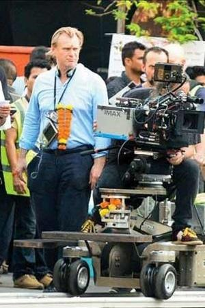 Christopher Nolan shoots in Mumbai