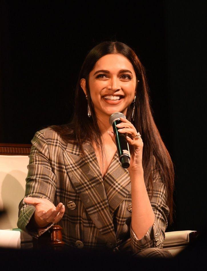 Deepika Padukone talks about mental health.